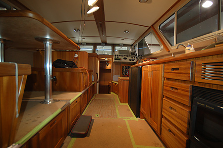 Grey amp Construction Boat Interiors